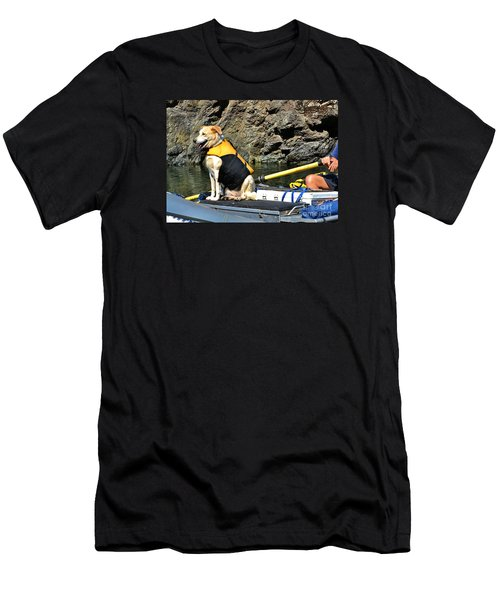 Ship, Captain And Crew Men's T-Shirt (Athletic Fit)