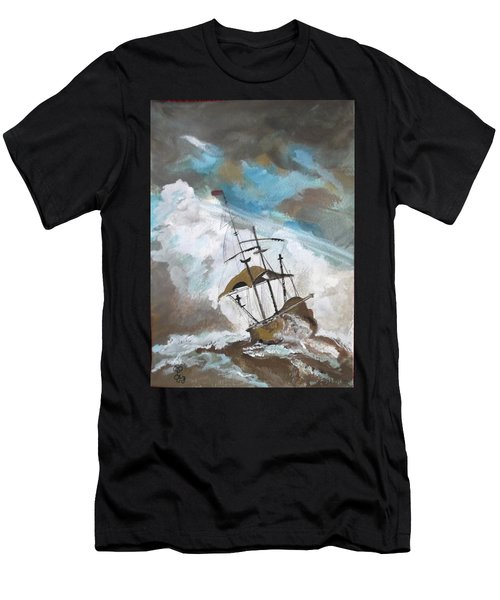 Ship In Need Men's T-Shirt (Athletic Fit)