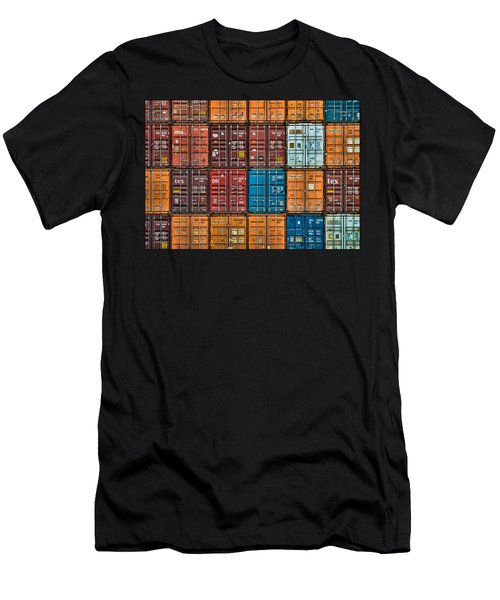 Shipping Containers Men's T-Shirt (Athletic Fit)