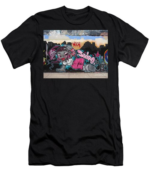 Men's T-Shirt (Slim Fit) featuring the photograph Shiro by Cole Thompson