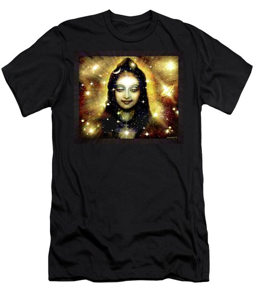 Shiva In Golden Space  Men's T-Shirt (Athletic Fit)