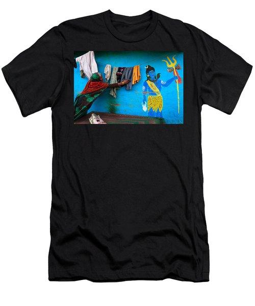 Shiva Men's T-Shirt (Athletic Fit)
