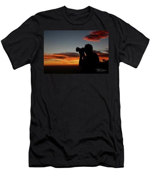 Shoot The Burning Sky Men's T-Shirt (Athletic Fit)