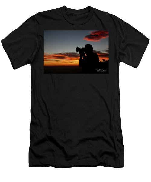 Shoot The Burning Sky Men's T-Shirt (Athletic Fit)