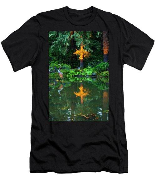 Shore Acres Beauty Men's T-Shirt (Slim Fit) by Dale Stillman