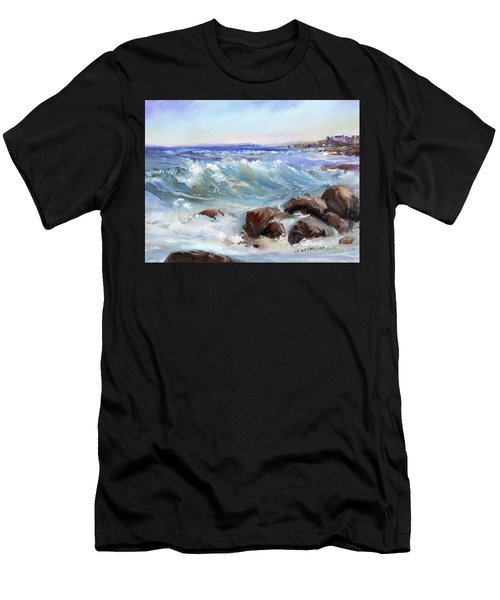 Shore Is Breathtaking Men's T-Shirt (Athletic Fit)