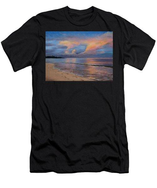 Shore Of Solitude Men's T-Shirt (Athletic Fit)