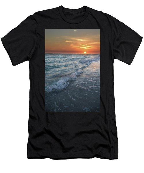 Shoreline Sunset Men's T-Shirt (Athletic Fit)