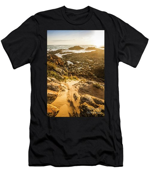 Shoreline Sunshine Men's T-Shirt (Athletic Fit)