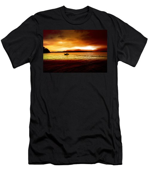 Shores Of The Soul Men's T-Shirt (Slim Fit) by Holly Kempe