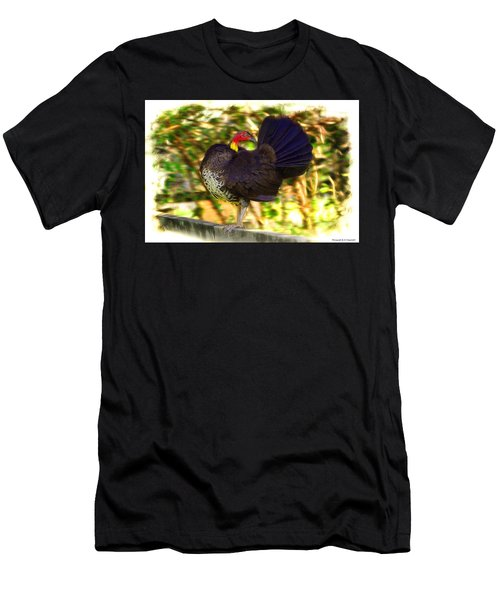 Men's T-Shirt (Slim Fit) featuring the photograph Show Off 01 by Kevin Chippindall