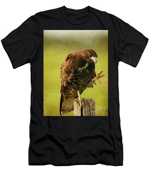 Showing Claws Men's T-Shirt (Athletic Fit)