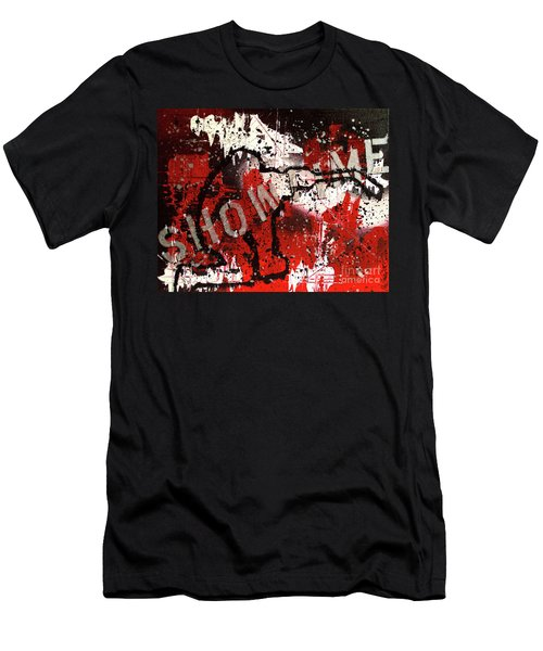 Showtime At The Madhouse Men's T-Shirt (Slim Fit) by Melissa Goodrich