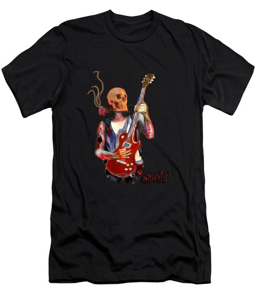 Shred It Men's T-Shirt (Slim Fit) by Tom Conway
