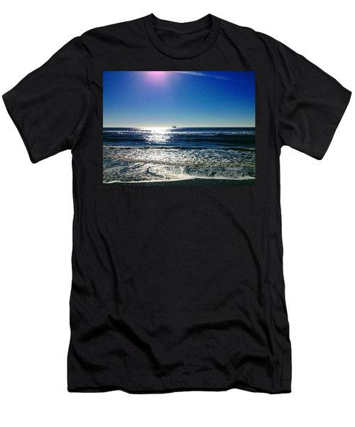 Shrimp Season Men's T-Shirt (Athletic Fit)