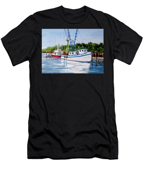 Shrimpers Men's T-Shirt (Athletic Fit)