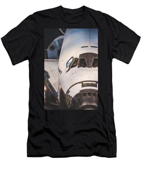 Shuttle Close Up Men's T-Shirt (Slim Fit) by David Collins