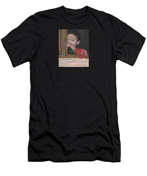 Shy Men's T-Shirt (Athletic Fit)