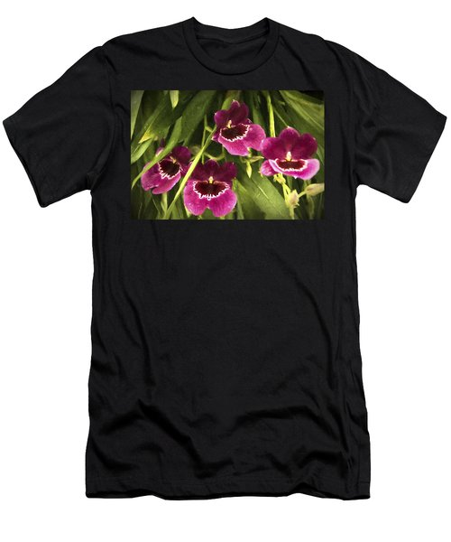 Shy, Confident, Tentative And Awkward Orchids Men's T-Shirt (Athletic Fit)