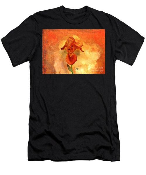 Shy Iris Men's T-Shirt (Athletic Fit)