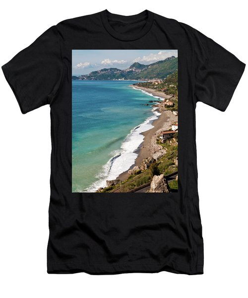 Sicilian Sea Sound Men's T-Shirt (Athletic Fit)