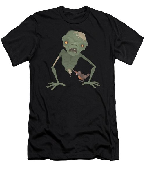 Sickly Zombie Men's T-Shirt (Athletic Fit)