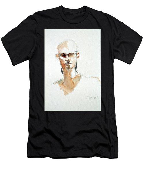 Side Glance Men's T-Shirt (Athletic Fit)