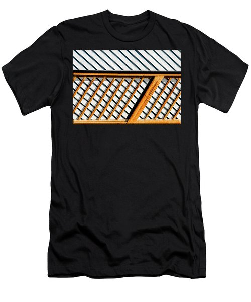 Men's T-Shirt (Slim Fit) featuring the photograph Side Step by Paul Wear