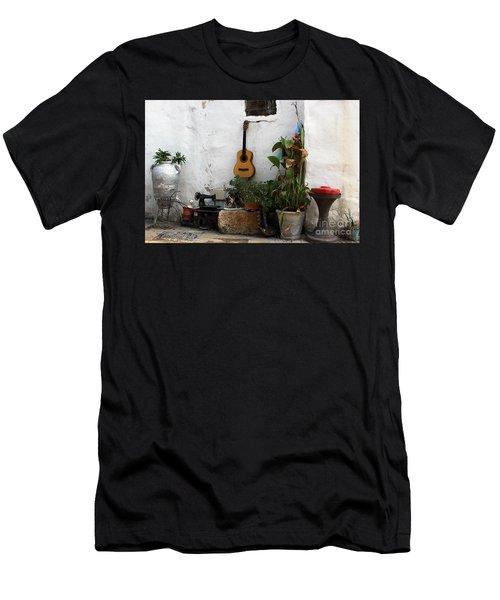 Sidewalk Collage #2 Men's T-Shirt (Athletic Fit)