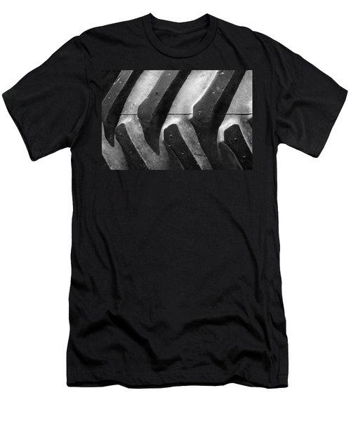 Sideways Tractor Tread Men's T-Shirt (Athletic Fit)