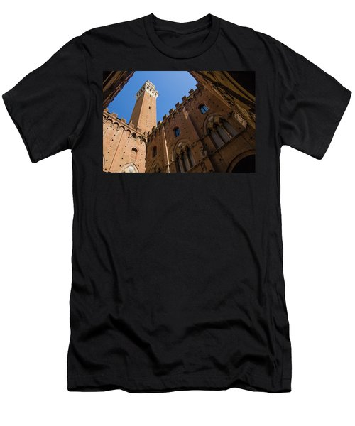 Siena Clock Tower Men's T-Shirt (Athletic Fit)