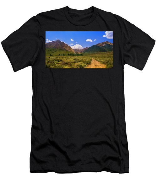 Sierra Mountains - Mammoth Lakes, California Men's T-Shirt (Athletic Fit)