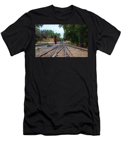 Sierra Railway Men's T-Shirt (Athletic Fit)