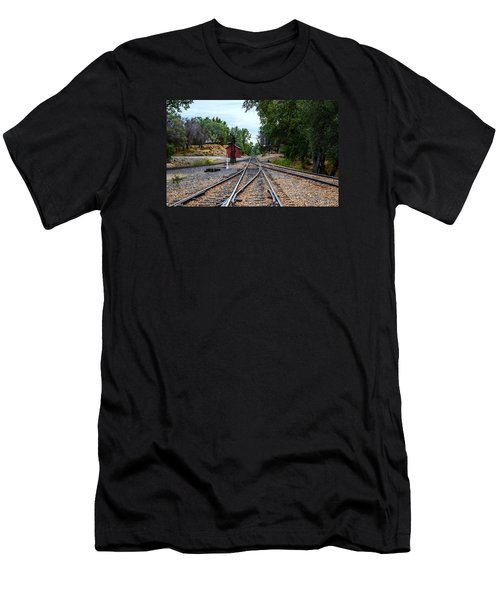 Sierra Railway Men's T-Shirt (Athletic Fit)