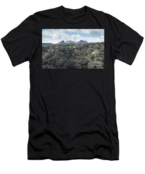 Sierra Ronda, Andalucia Spain Men's T-Shirt (Athletic Fit)