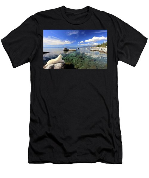 Men's T-Shirt (Athletic Fit) featuring the photograph Sierra Sphinx by Sean Sarsfield