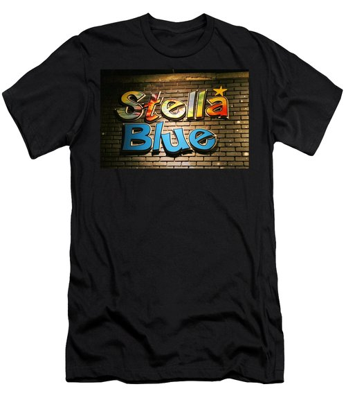 Sign Of Stella Blue Men's T-Shirt (Athletic Fit)