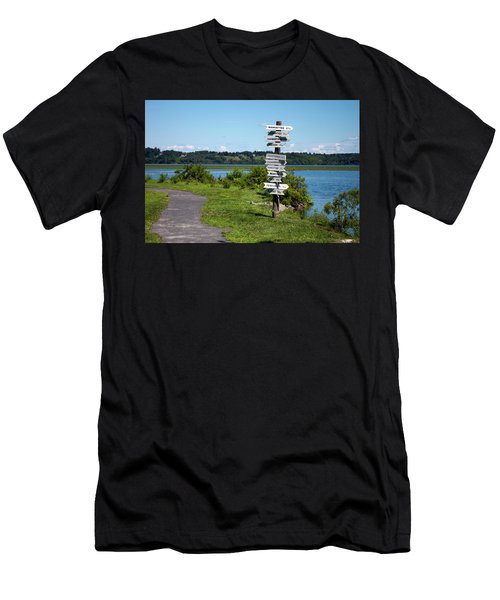 Signs Men's T-Shirt (Athletic Fit)