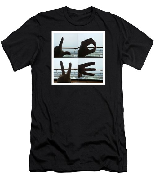 Signs Of Love Men's T-Shirt (Athletic Fit)