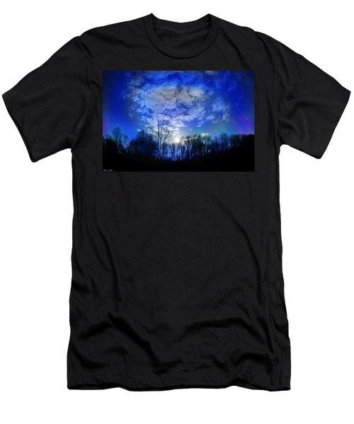 Silence Men's T-Shirt (Slim Fit) by Bernd Hau