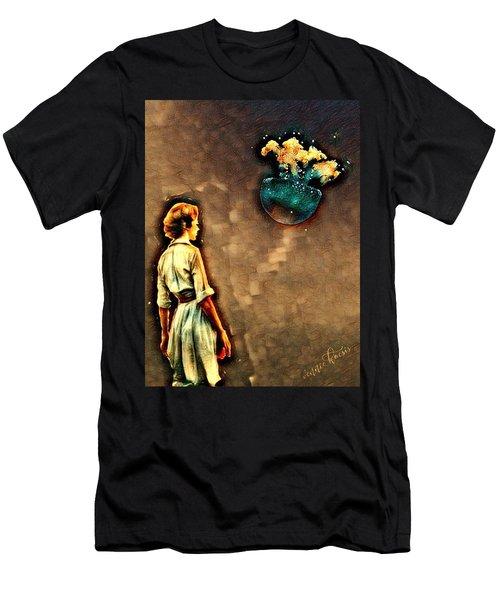 Silence Must Be Heard Men's T-Shirt (Slim Fit) by Vennie Kocsis