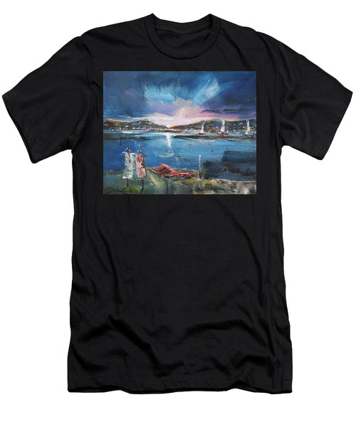 Silent Evening IIi Men's T-Shirt (Athletic Fit)