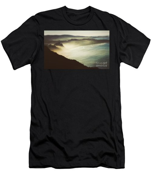 Silent Morning  Men's T-Shirt (Athletic Fit)