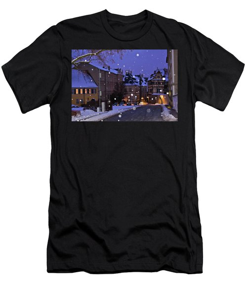 Silent Night In Bamberg, Germany #2 Men's T-Shirt (Athletic Fit)
