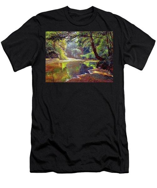 Silent River Men's T-Shirt (Athletic Fit)