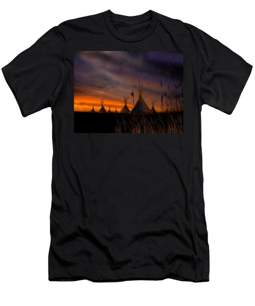 Silent Teepees Men's T-Shirt (Athletic Fit)