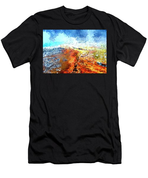 Silex Hot Springs Abstract Men's T-Shirt (Athletic Fit)