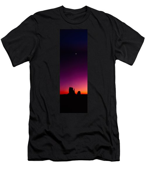 Silhouette Of Rock Formations, The Men's T-Shirt (Athletic Fit)