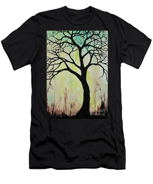 Silhouette Tree 2018 Men's T-Shirt (Athletic Fit)