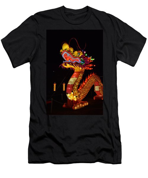 Silk Dragon Men's T-Shirt (Athletic Fit)